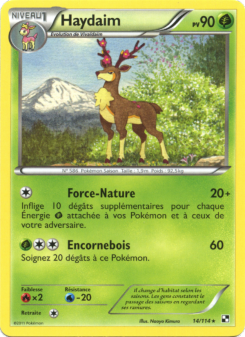 Preview of the Pokemon TCG Card Haydaim