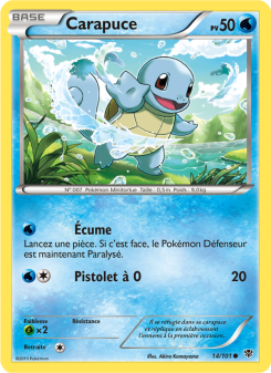 Preview of the Pokemon TCG Card Carapuce