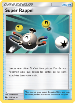 Preview of the Pokemon TCG Card Super Rappel