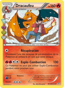 Preview of the Pokemon TCG Card Dracaufeu