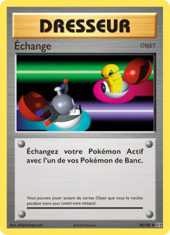 Preview of the Pokemon TCG Card Échange