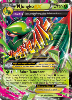 Preview of the Pokemon TCG Card M Jungko-EX