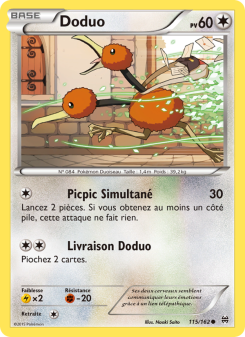 Preview of the Pokemon TCG Card Doduo