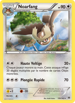 Preview of the Pokemon TCG Card Noarfang